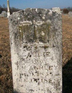 Sarah Ann Sallie <i>Hunley</i> Ashley