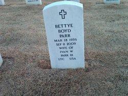 Bettye <i>Boyd</i> Parr