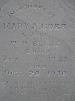 Mary Adelaide <i>Cobb</i> Blake