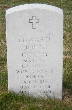 Maj Edward John Gould
