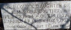 Emma Louise <i>Douthit</i> Agnew
