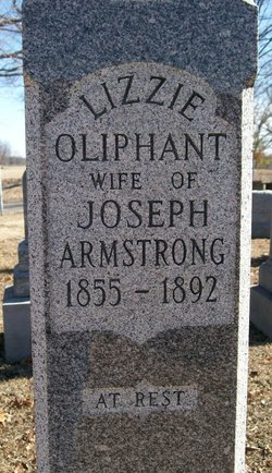 Lizzie <i>Oliphant</i> Armstrong