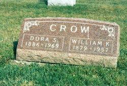 Dora S. <i>Saunders</i> Crow