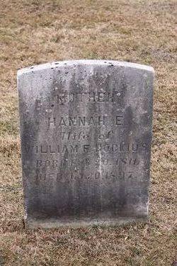 Hannah E. <i>Snodgrass</i> Bockius