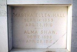 Alma Shaw