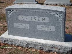 Hanna Brown <i>Krewson</i> Krusen