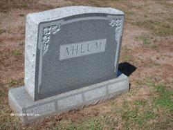 Anna <i>Saxton</i> Ahlum