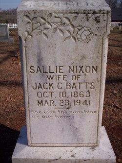 Sallie <i>Nixon</i> Batts