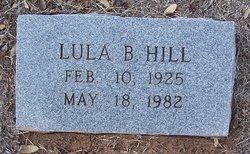 Lula Bee <i>Chandler</i> Hill