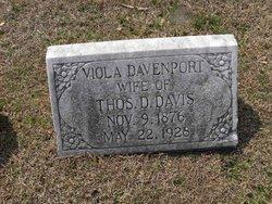 Viola <i>Davenport</i> Davis