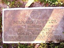 PFC Bernard J Taylor
