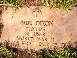 Spec Paul Dixon
