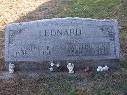 Florence K. <i>Milligan</i> Leonard