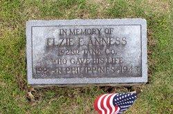 Sgt Elzie E. Anness