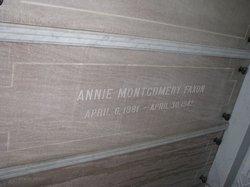 Annie <i>Montgomery</i> Faxon