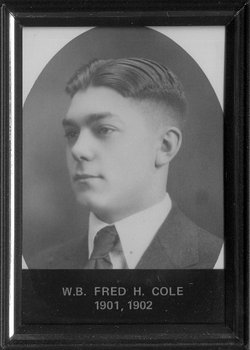 Fred Hayes Cole