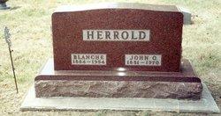 Blanche <i>Morefield</i> Herrold