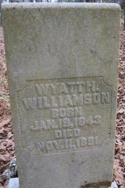 Wyatt Hurd Williamson