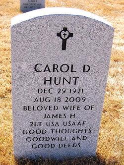 Carol D Hunt