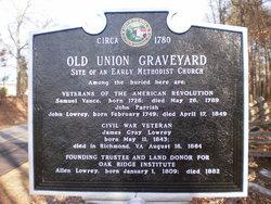 Old Union Church Graveyard
