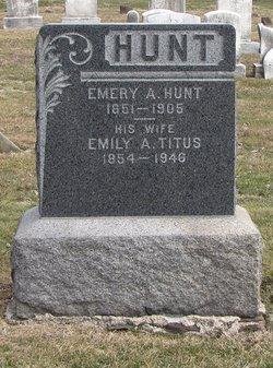 Emily A <i>Titus</i> Hunt