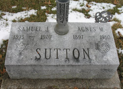 Agnes Marie <i>Powell</i> Sutton