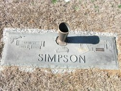 Tressie Evelyn <i>Ross</i> Simpson