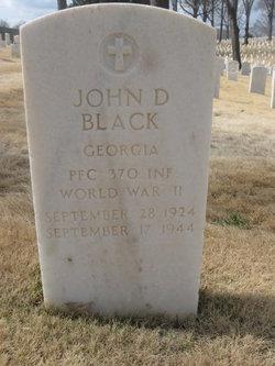 John D Black