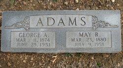 May R <i>Lewis</i> Adams