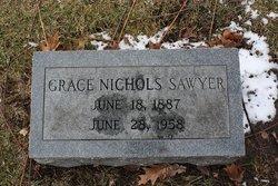 Grace <i>Nichols</i> Sawyer