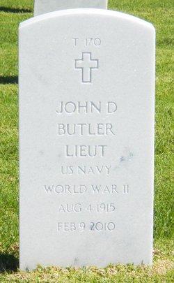 Lieut John David Butler