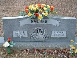 Ethel Leora <i>Creech</i> Barber