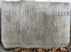 Elizabeth Ann Marshall Betsey <i>Osborne</i> Selleck