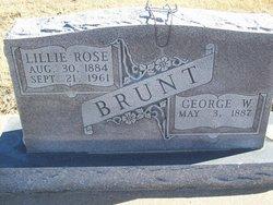 Lillie Rose <i>Graham</i> Brunt