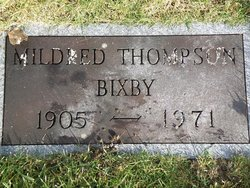 Mildred <i>Thompson</i> Bixby