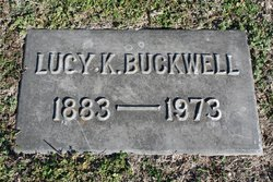 Lucille Lucy <i>Knell</i> Buckwell