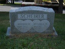 Marion D. <i>Pease</i> Scheirer
