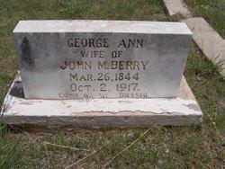 Georgia Ann <i>Maples</i> Berry