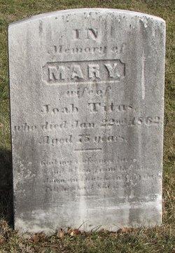 Mary <i>Christopher</i> Titus