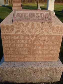 Euphemia A <i>Clark</i> Atchison