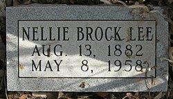 Nellie <i>Brock</i> Lee