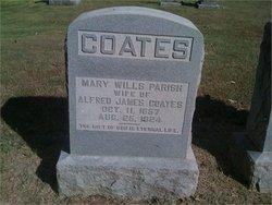 Mary Wills <i>Parish</i> Coates