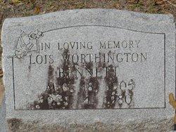 Lois <i>Worthington</i> Bennett