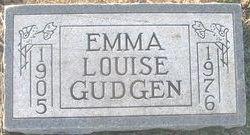 Emma Louise <i>Jones</i> Gudgen