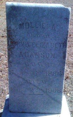 Mollie A Adamson