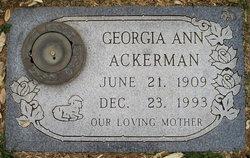 Georgia Ann Ackerman