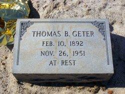 Thomas B Geter