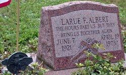 Pvt Larue F. Albert