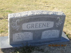 Alberta <i>Taylor</i> Greene