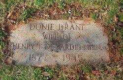 Donie <i>Drane</i> DeBardeleben